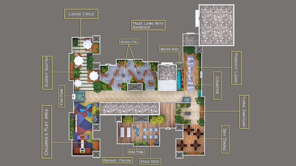 Amenities Layout